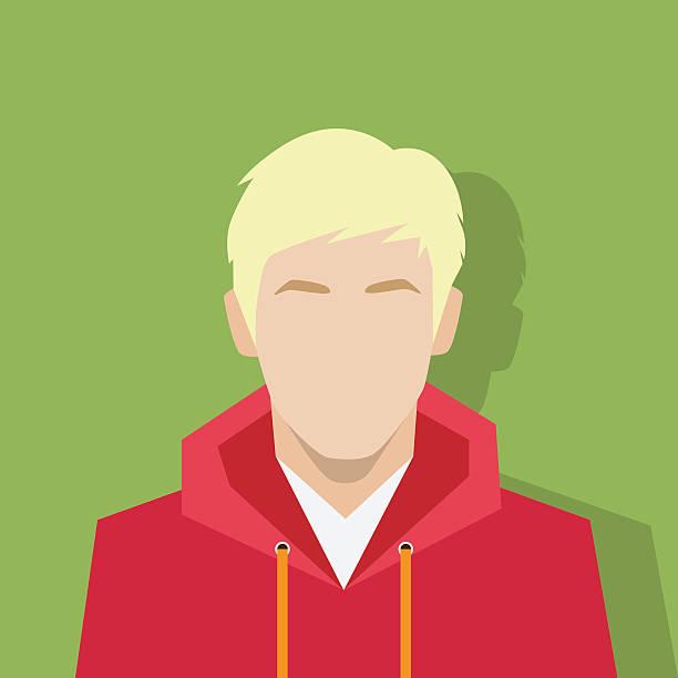 bildbanksillustrationer, clip art samt tecknat material och ikoner med profile icon male avatar portrait casual person - profile photo