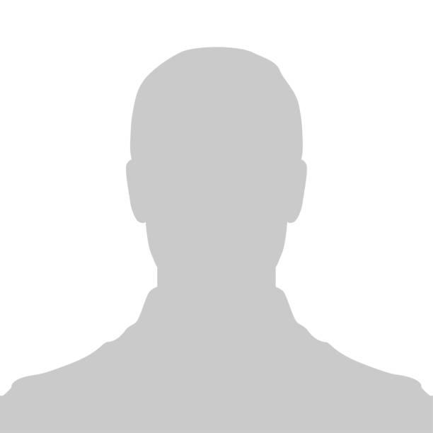 profil-platzhalter-bild. gray silhouette kein foto - bildkomposition und technik stock-grafiken, -clipart, -cartoons und -symbole