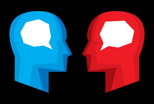 Profiles Speech Bubbles Stylized