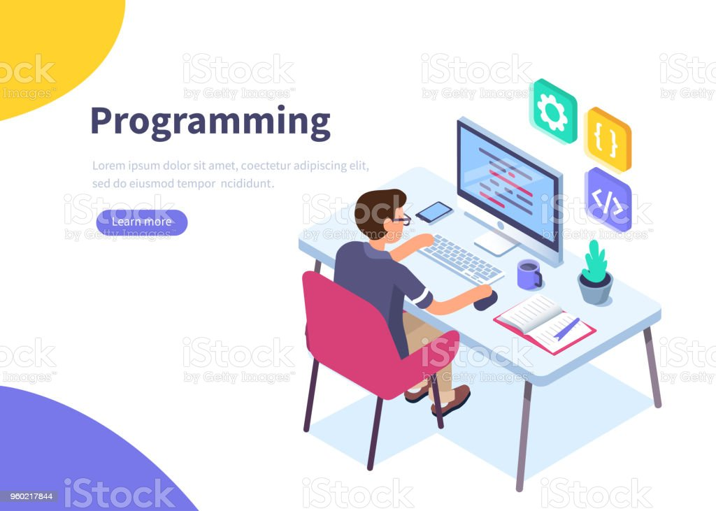 programmer royalty-free programmer stock illustration - download image now