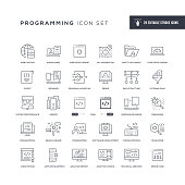 29 Programming Icons - Editable Stroke - Easy to edit and customize - You can easily customize the stroke with