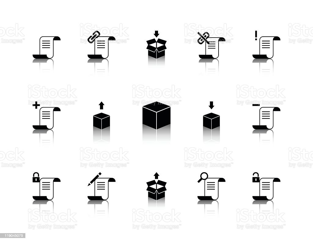 Programming icons royalty-free programming icons stock vector art & more images of black color