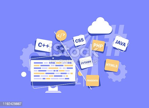 Programming languages for website creation,Php, Js, Ajax, Css 3, Jquery, Xml,Website development on Html 5,Online & offline courses on coding, programming