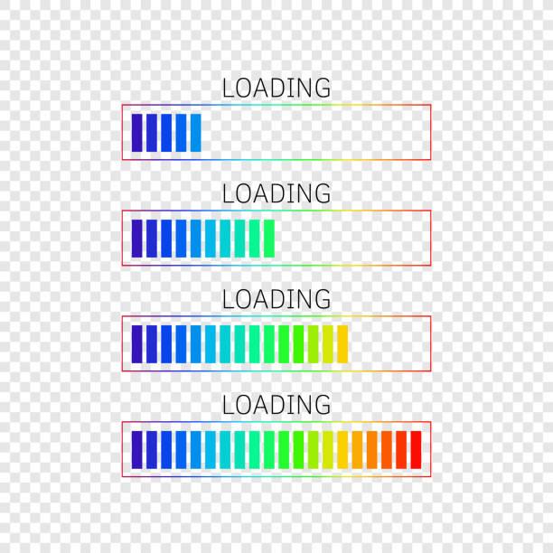 隔離進度條 - bar 幅插畫檔、美工圖案、卡通及圖標