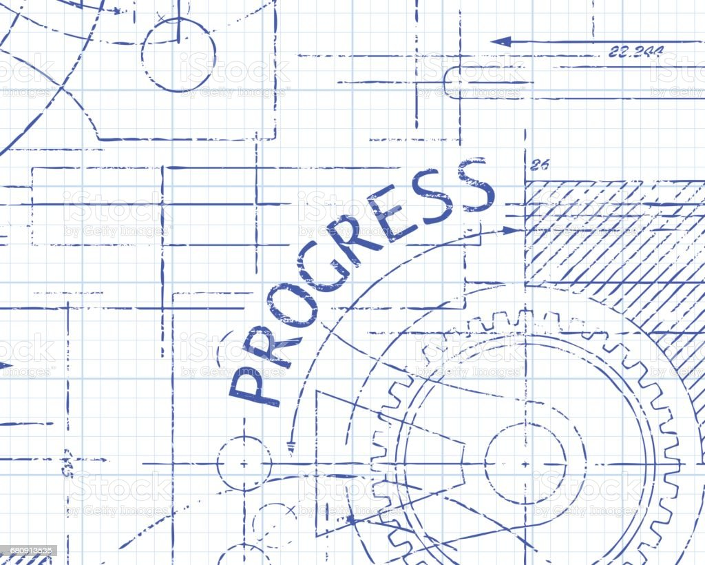Progress Graph Paper Machine royalty-free progress graph paper machine stock vector art & more images of achievement