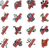Vector File of Prohibit icon
