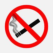 Prohibiting signs, No smoking sign