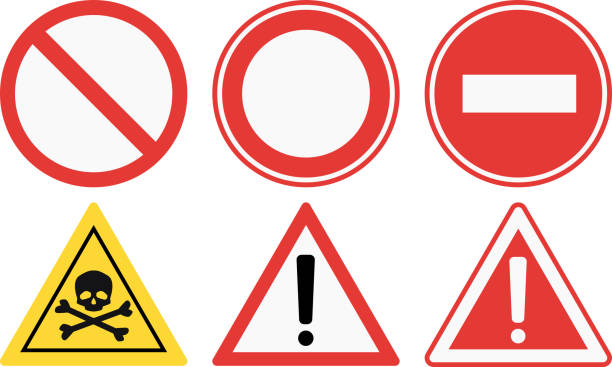 ilustrações de stock, clip art, desenhos animados e ícones de conjunto de ilustração vetorial de sinais de proibição - swim arms