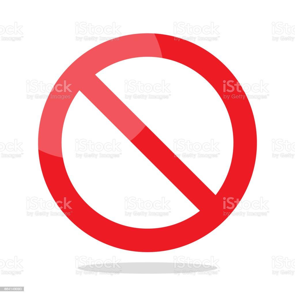 Prohibition no symbol royalty-free prohibition no symbol stock vector art & more images of alertness