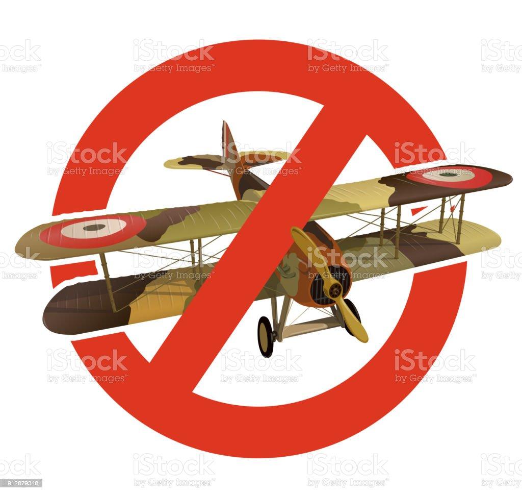 ミリタリー迷彩で複葉機の禁止2 つの翼を持つ航空機の建設の厳格な禁止 ...