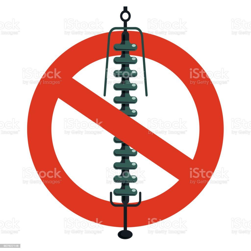 Verbot Der Keramikisolierung Komponente Elektrische Verdrahtung ...