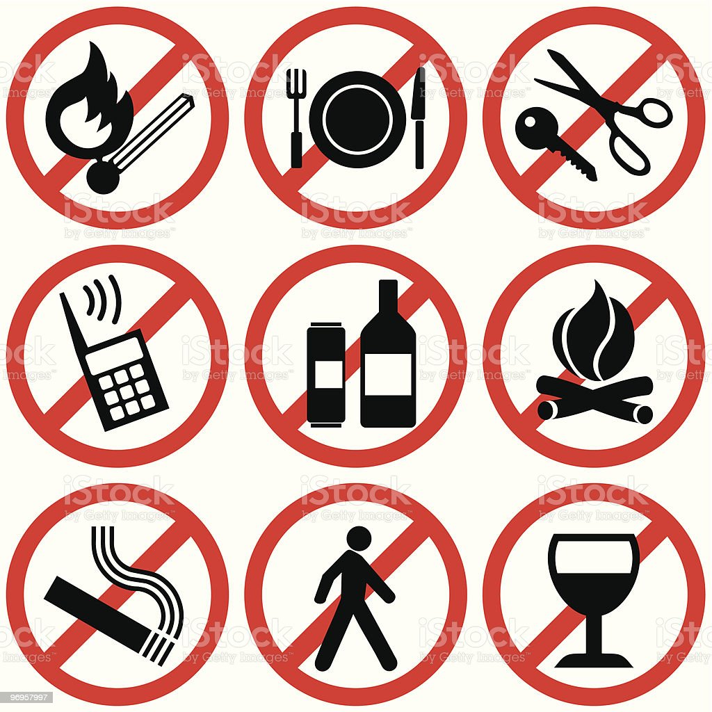 Prohibitory signs royalty-free prohibitory signs stock vector art & more images of alcohol
