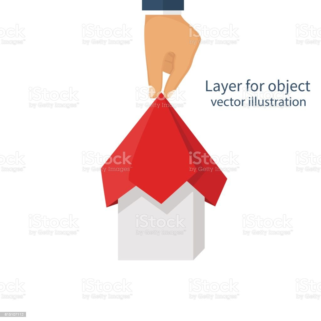 Project presentation concept vector art illustration