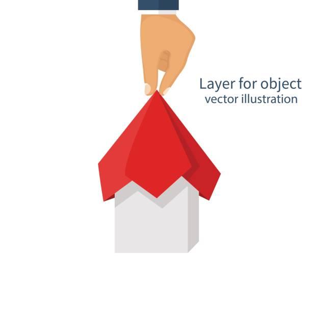 projekt-präsentations-konzept - entdeckungskiste stock-grafiken, -clipart, -cartoons und -symbole