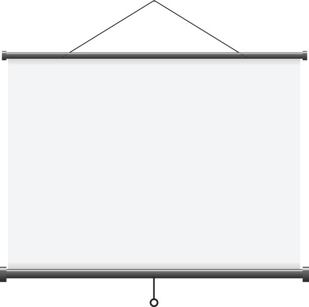Projection screen - Illustration Projection Screen on white background. PDF file is available. projection screen stock illustrations