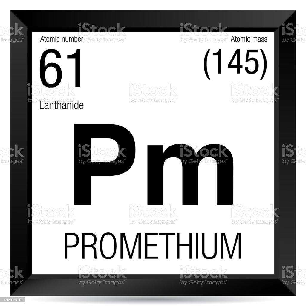 elemento nmero 61 de la tabla peridica de los elementos qumica