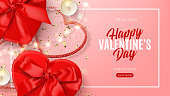 Promo banner for Valentine's Day sale