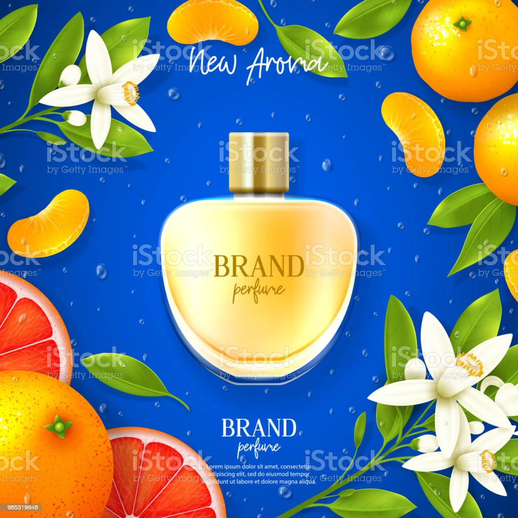 Promo banner of luxury perfume brand royalty-free promo banner of luxury perfume brand stock vector art & more images of advertisement
