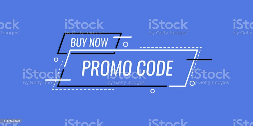 Promo Code Coupon Code Banner Design Modern Vector Illustration In Flat Style Stock Illustration Download Image Now Istock