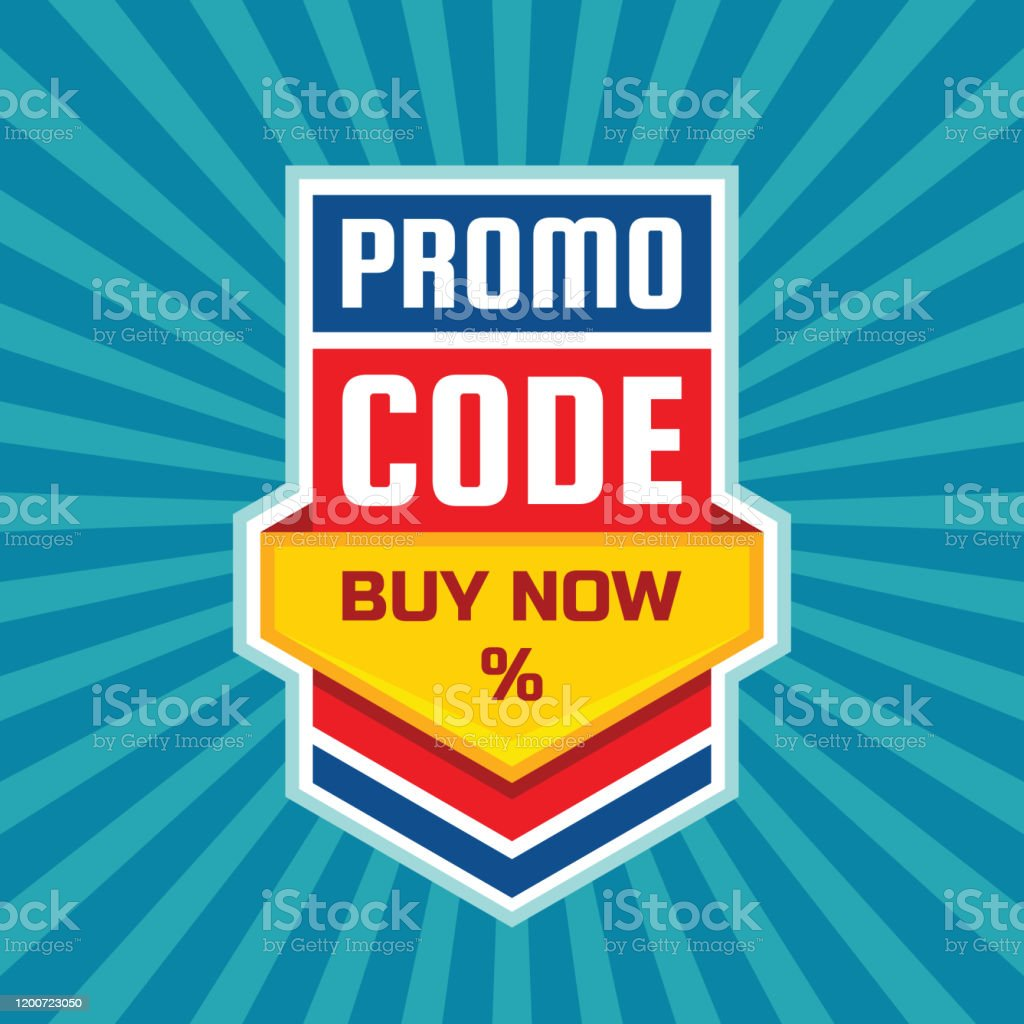 Promo Code Coupon Design Buy Now Percent Advertising Promotion Banner For Discount Sale Stock Illustration Download Image Now Istock