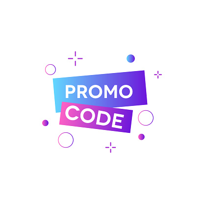 Promo Code Voucher Stock Illustration - Download Image Now - iStock