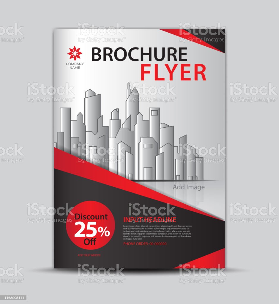 Promotion Flyers For Products Leaflet Design Brochure Layout Cover Design Annual Report Cover Ads Modern Concept Design Red And Black Background Vector Eps10 Stock Illustration Download Image Now Istock