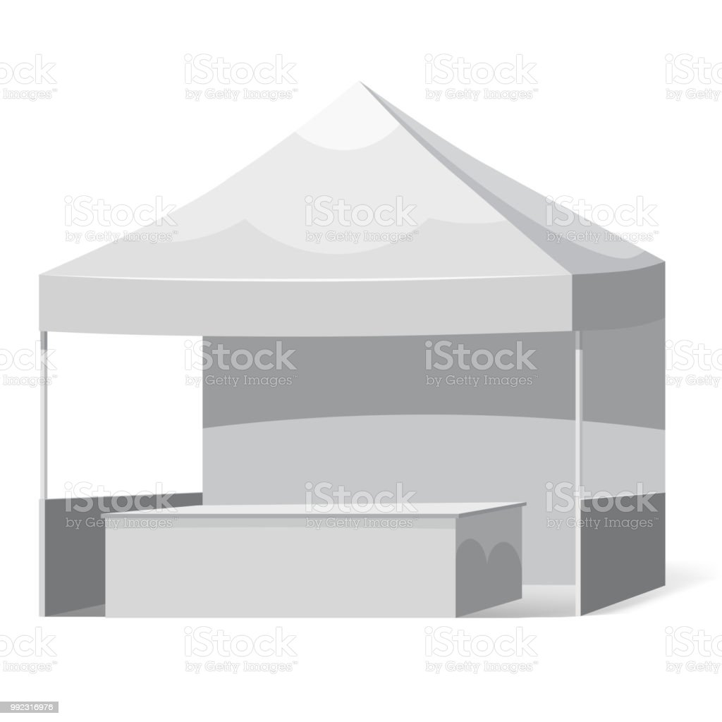 Promotional Outdoor Canoby With Counter Event Trade Show Popup Tent ...
