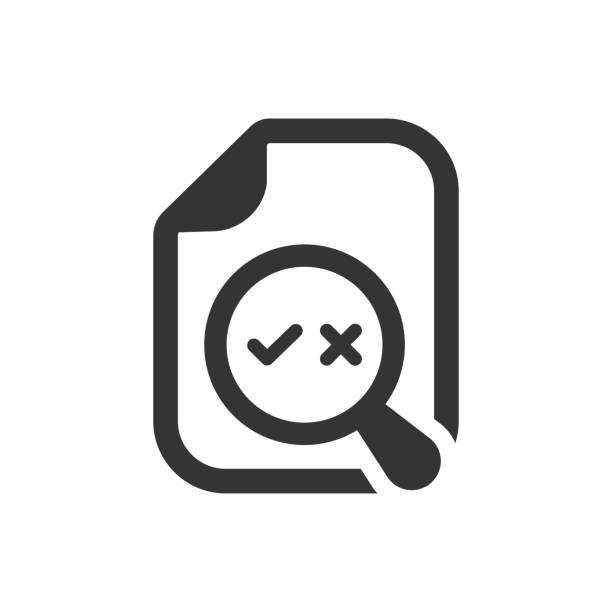 korrekturlesen symbol - korrekturlesen stock-grafiken, -clipart, -cartoons und -symbole