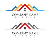 Real Estate , Property and Construction Logo design for business corporate sign