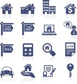 Property mortgage interface icon