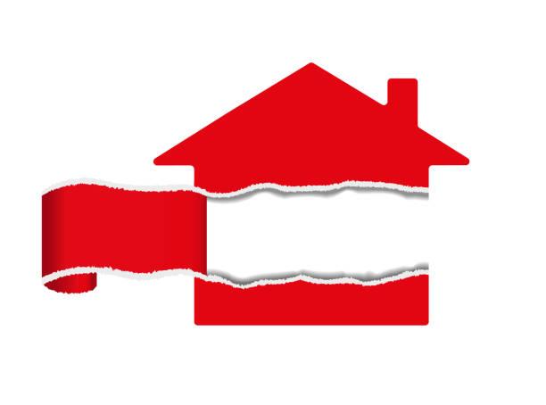 Propiedad, bienes raíces - ilustración de arte vectorial
