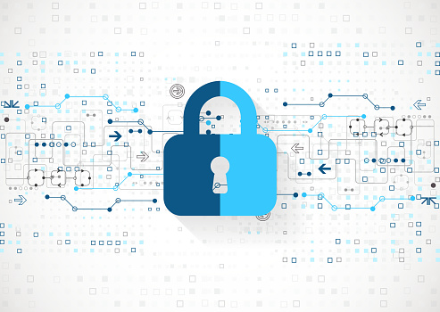 Protection Concept Protect Mechanism System Privacy Stock Illustration - Download Image Now