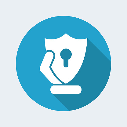 Protection shield icon