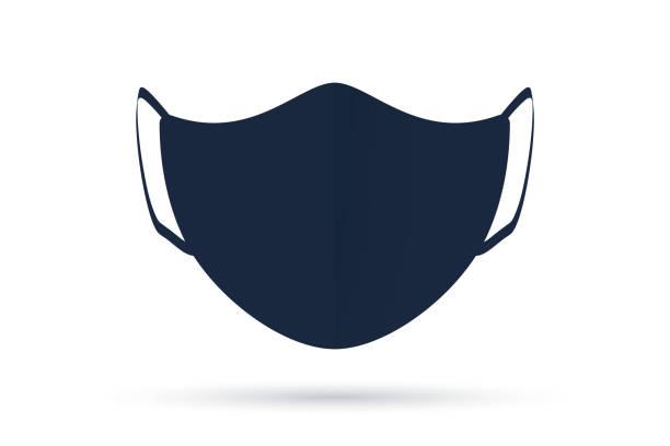 ウイルスからの保護マスク。ðsolatedフェイスマスク。 - マスク点のイラスト素材/クリップアート素材/マンガ素材/アイコン素材