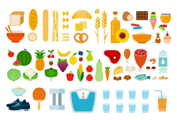 Royalty Free Carbohydrate Clip Art, Vector Images ...