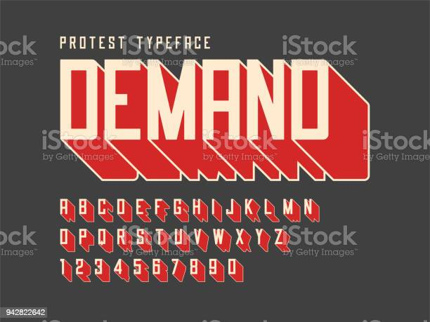 Protest display font design alphabet character set letters an vector id942822642?b=1&k=6&m=942822642&s=612x612&h=yyeokqyfqqkw1pzfe1z9zzdkmvd7ramhhd7nhqwdqzu=