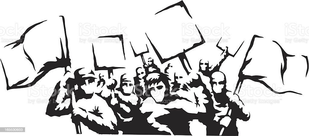 Protest Riot royalty-free protest riot stock vector art & more images of art and craft