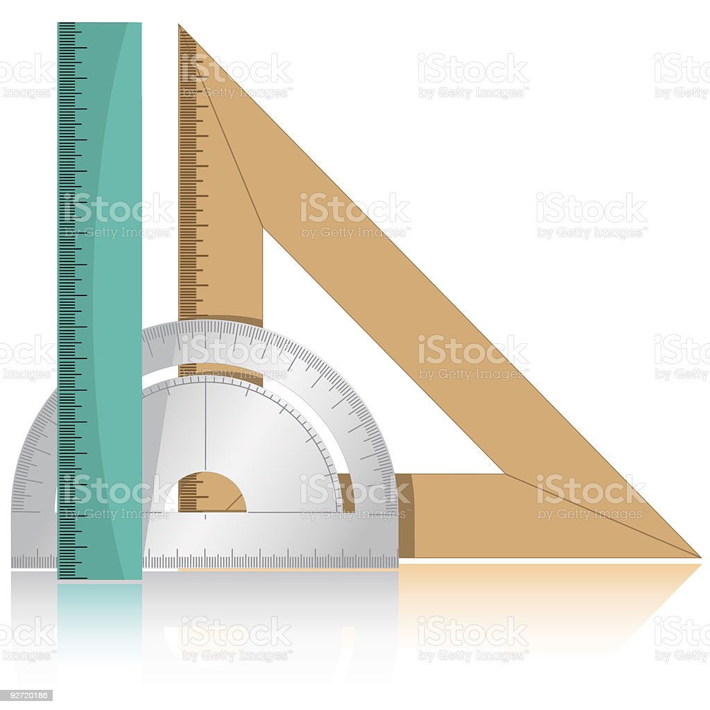 protractor and rulers royalty-free protractor and rulers stock vector art & more images of accuracy