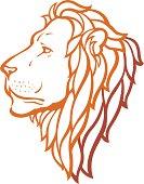 Proud Lion Side View