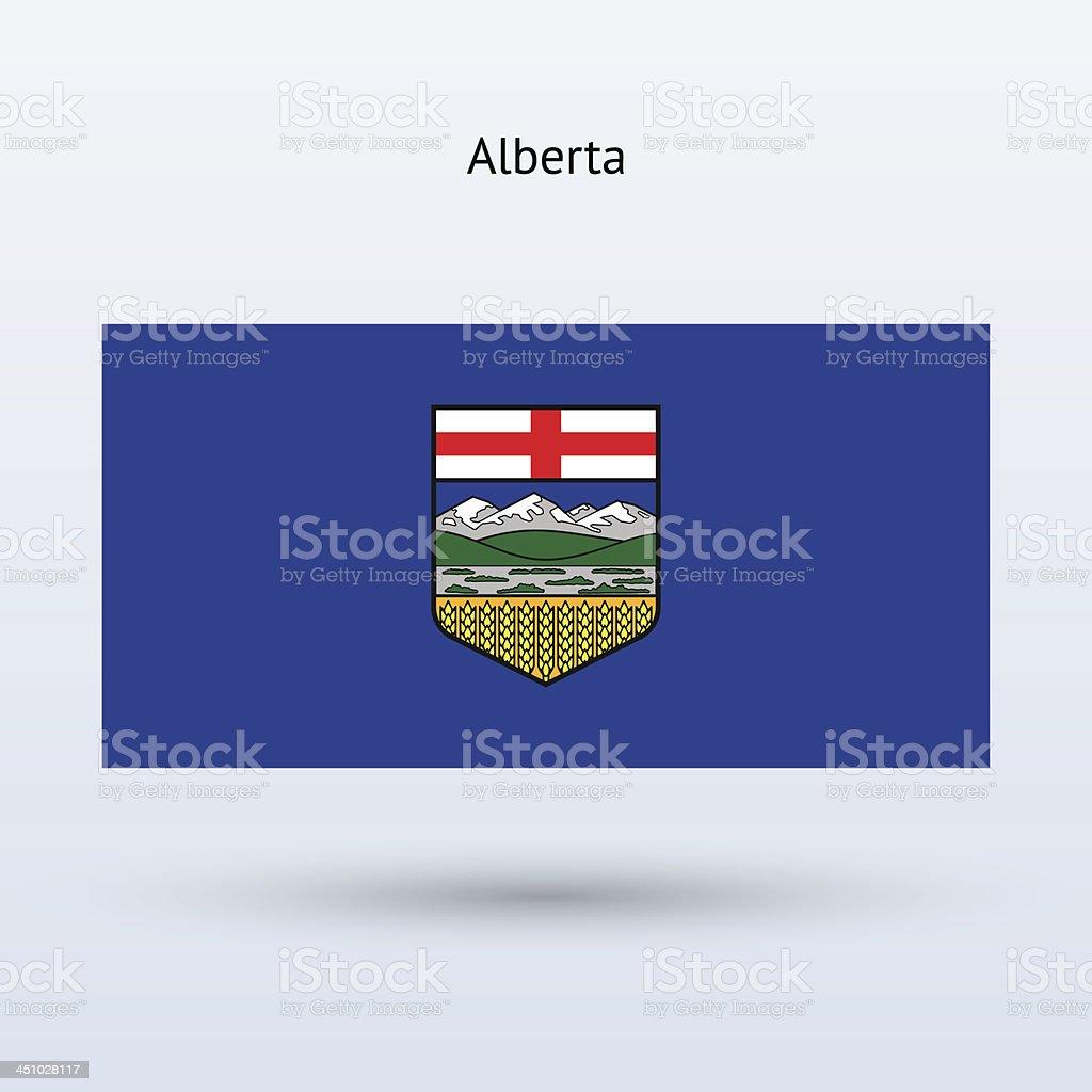 Province of Alberta (Canada) royalty-free stock vector art