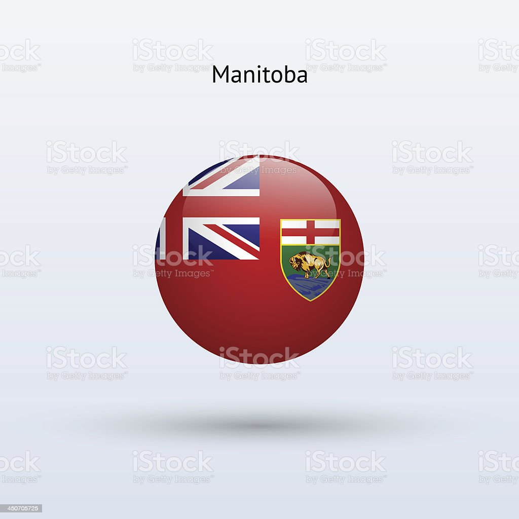 Province of Manitoba Flag (Canada) royalty-free province of manitoba flag stock vector art & more images of canada