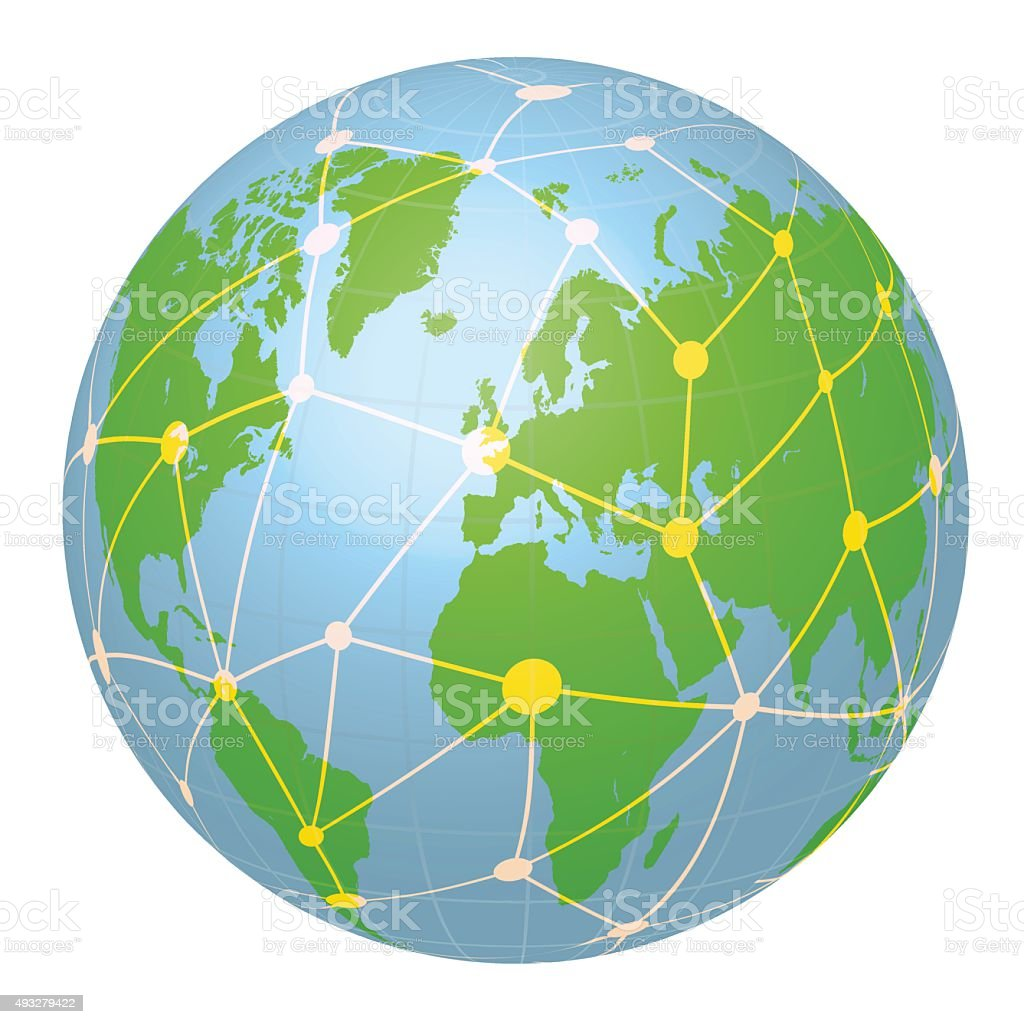 Pseudo Earth That Contains The Whole World Map Image ...