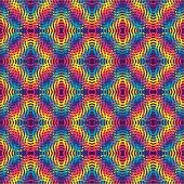 Psychedelic colored background