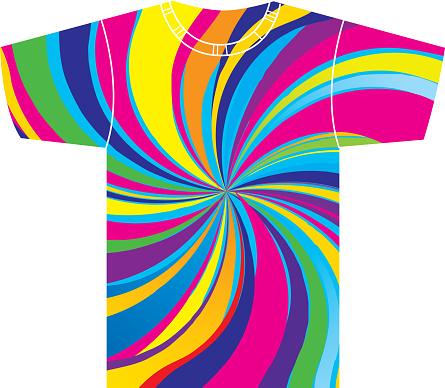 Psychedelic Swirl T Shirt