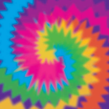 Psychedelic Tie Dye Background
