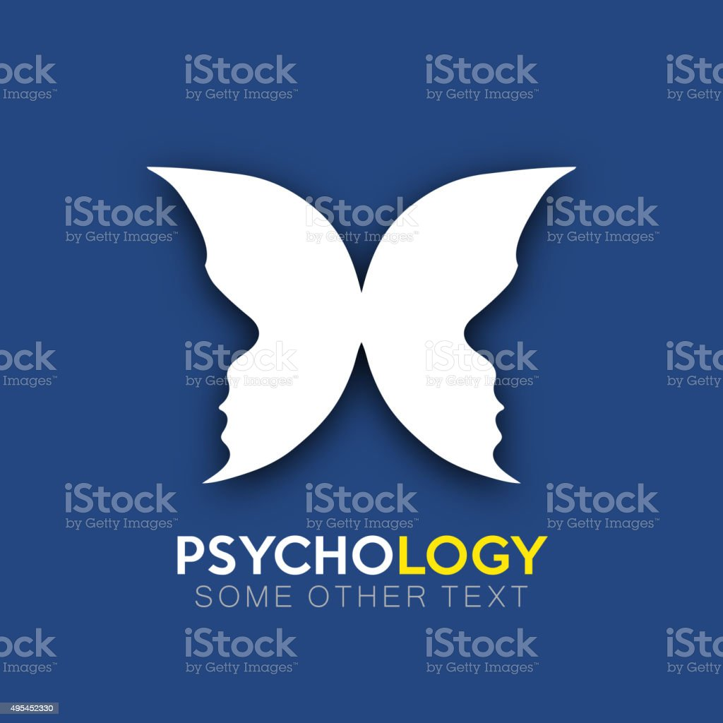 Psychology icon design vector art illustration
