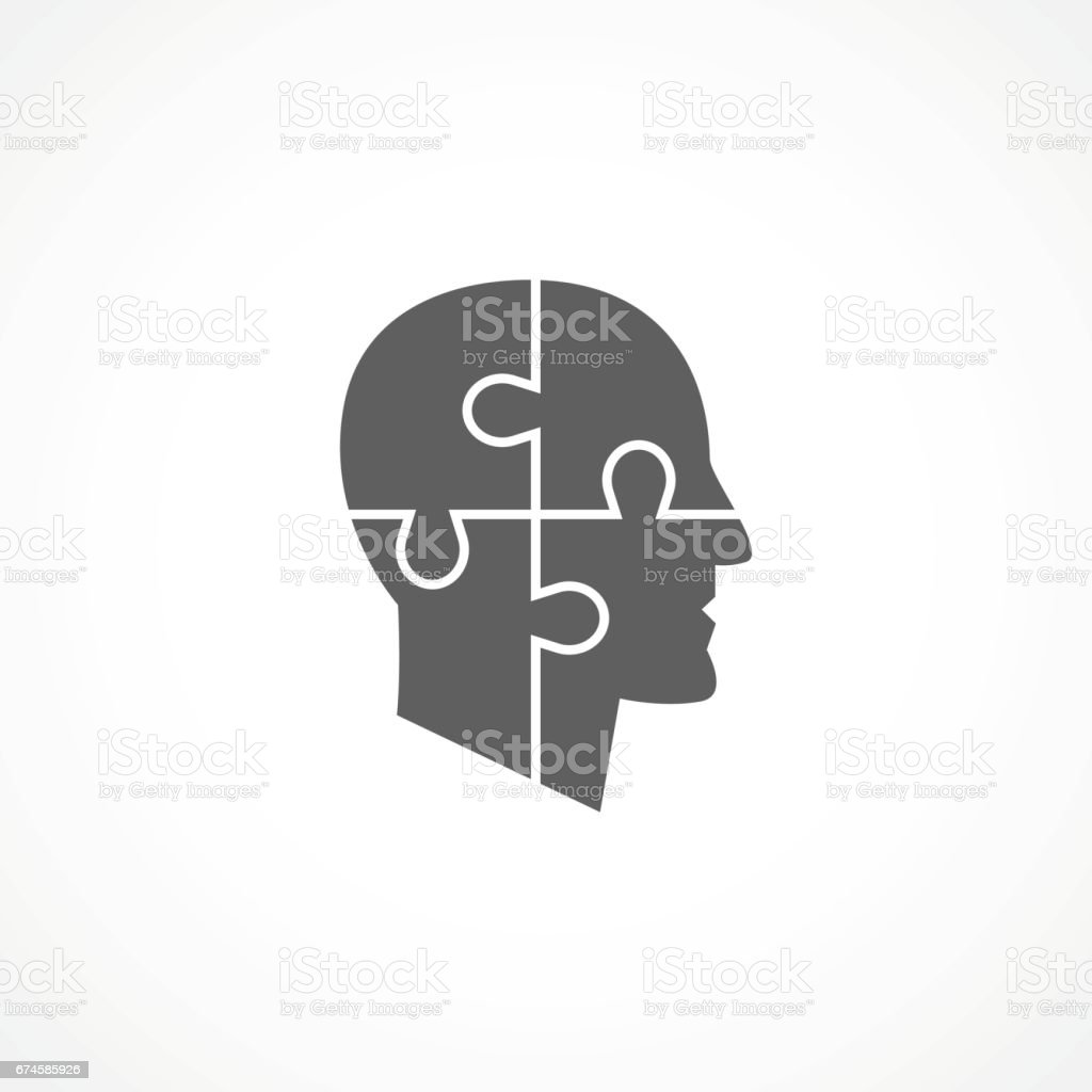 Psychology Icon vector art illustration