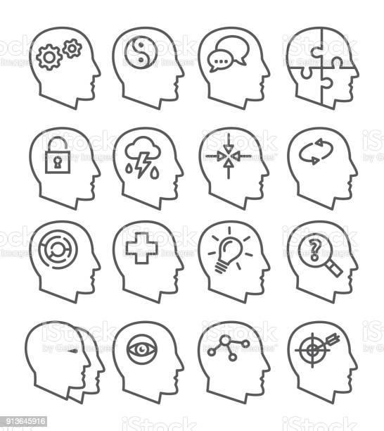 Psychology line vector icons set vector id913645916?b=1&k=6&m=913645916&s=612x612&h=pcgjcithlkqtrltmvletli91 tduw5x6xkrxevi3c c=