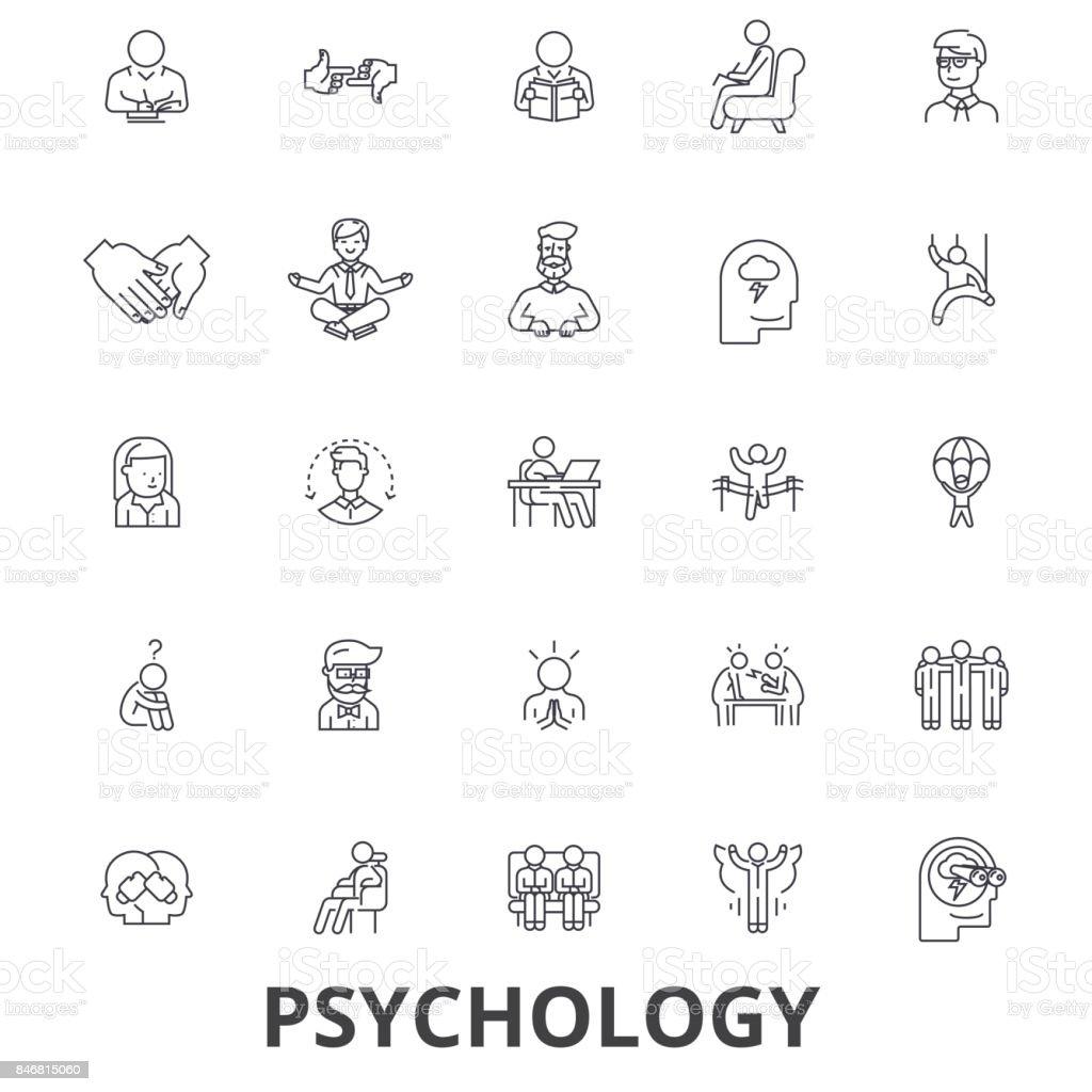 Ilustración de Psicología Psicólogo Asesoría Pruebas Terapia Cerebro ...