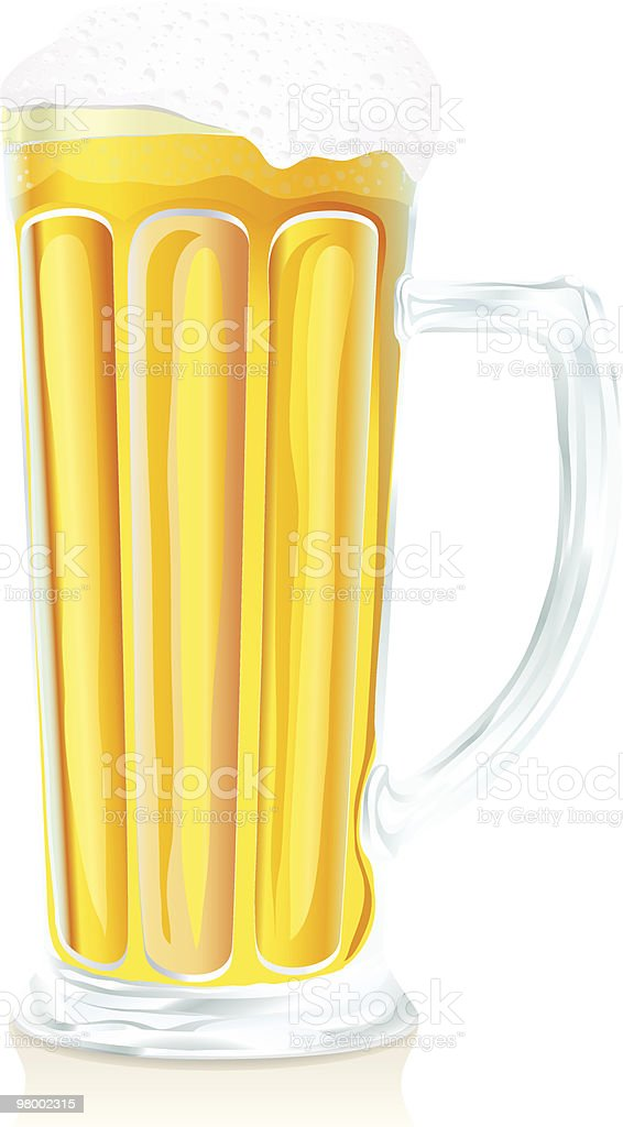 Pub glass of beer with foam royalty free pub glass of beer with foam stockvectorkunst en meer beelden van alcohol